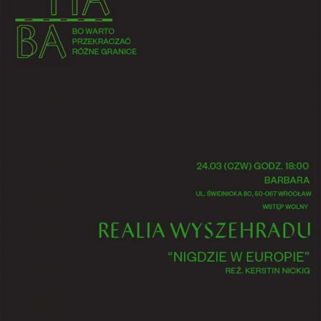 #Marhaba zaprasza! Trzecie spotkanie filmowe: Realia Wyszehradu, 24.03.15, godz. 18.00