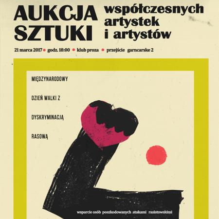 (Polski) Aukcja Sztuki — Międzynarodowy Dzień Walki z Rasizmem
