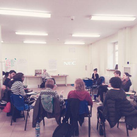 Spotkanie i warsztaty ze studentami. Erasmus Mundus