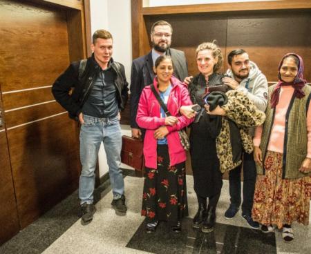 Proces eksmisyjny wytoczony rodzinom romskim zawieszony